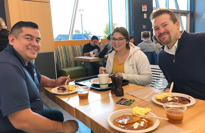 KVCC Foundation pancake breakfast fundraiser