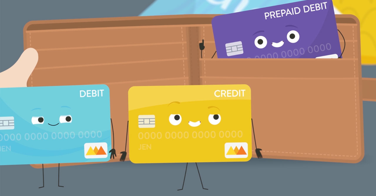 Comparing debit and credit cards